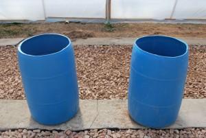 aquaponic barrel farm