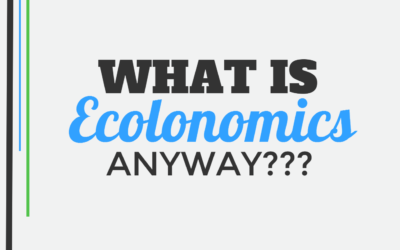 What Is Ecolonomics Anyway?