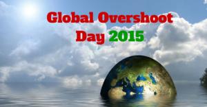 Global Overshoot Day 2015