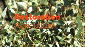 Restoration Agricutlure