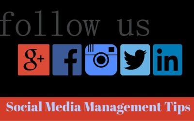 Social Media Management Tips for Online Businesses