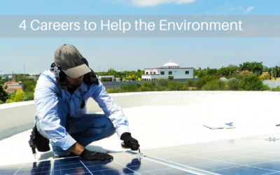 4 Careers to Help the Environment