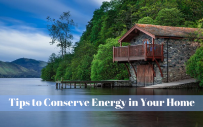 Tips to Conserve Energy in Your Home
